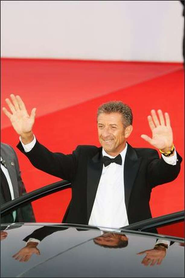 "Actor Ezio Greggio attends the ""Il Papa Di Giovanna"" film premiere at the Sala Grande during the 65th Venice Film Festival on Sunday in Venice, Italy. Photo: Getty Images / Getty Images"