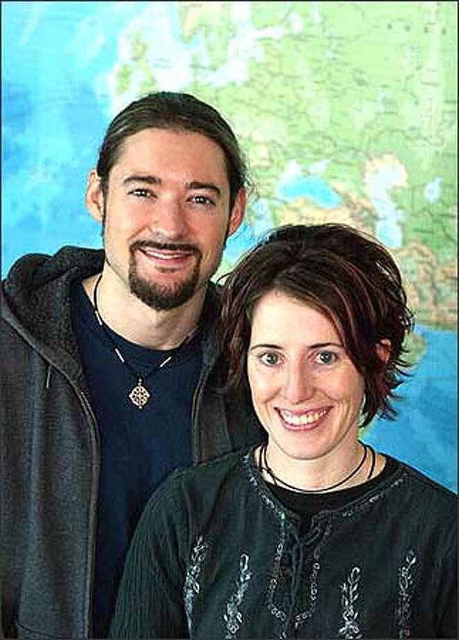 Winda Benedetti and Richie Costleigh