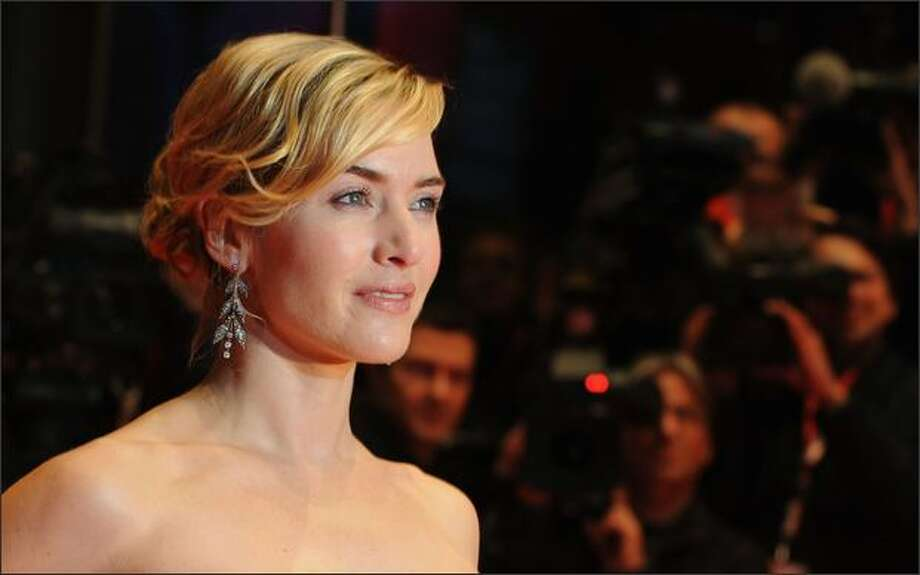Actress Kate Winslet attends the premiere for 'The Reader' as part of the 59th Berlin Film Festival at the Berlinale Palast on Friday in Berlin, Germany. Photo: Getty Images / Getty Images