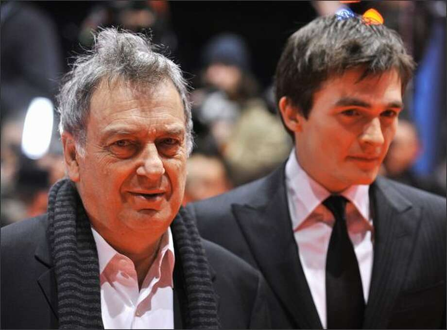 "British director Stephen Frears (L) and British actor Rupert Friend pose prior to the screening of the film ""Cheri"" by British director Stephen Frears and presented in competition of the 59th Berlinale Film Festival in Berlin on Tuesday. The Berlinale is taking place from Feb. 5 to 15, 2009 with 18 productions vying for the coveted Golden Bear for best picture to be awarded Feb. 14. Photo: Getty Images / Getty Images"