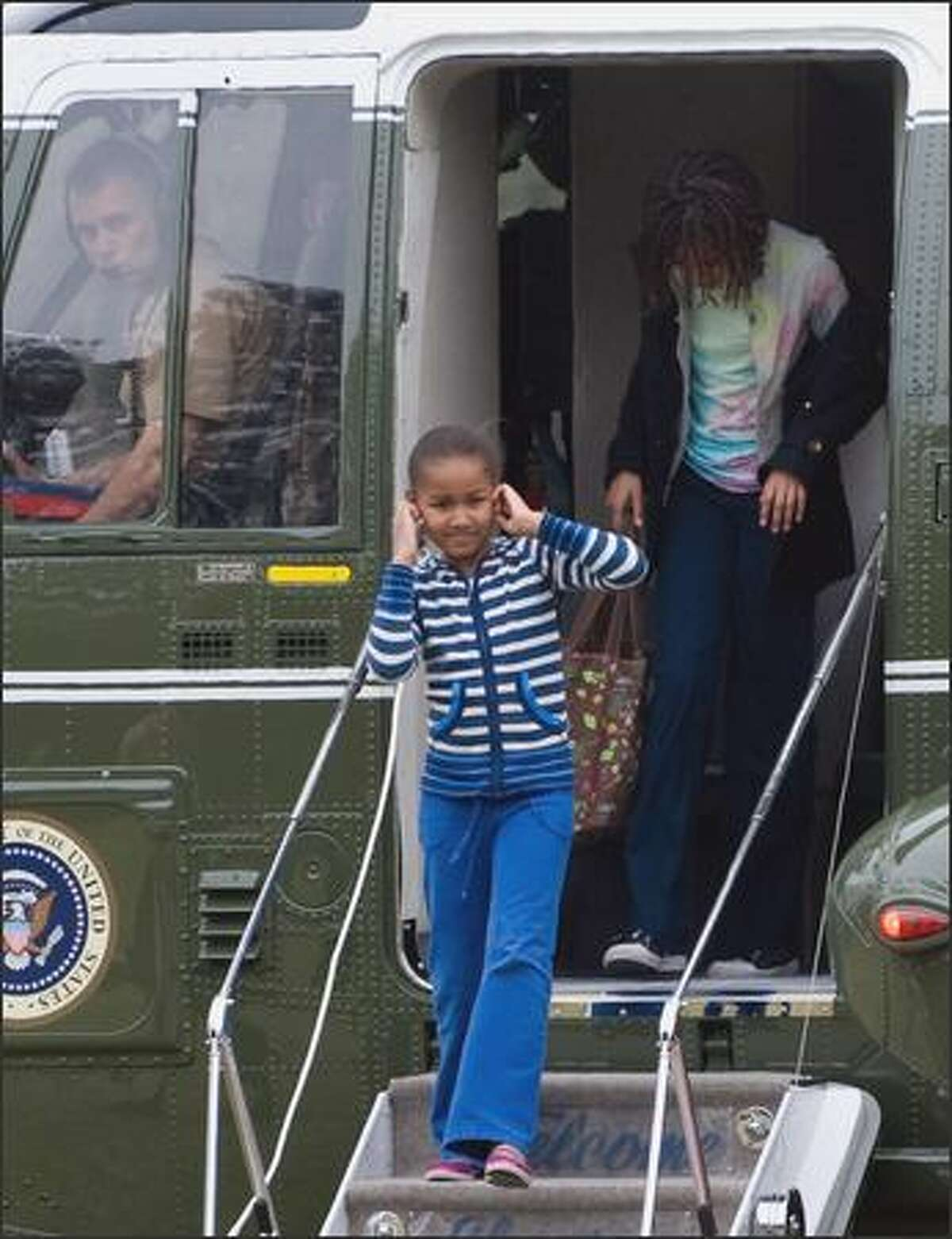 5-year-old Sasha was less than impressed with the White House: When Michelle took her daughters on a tour in 2006, the tour guide said they were moving on to the Red Room.