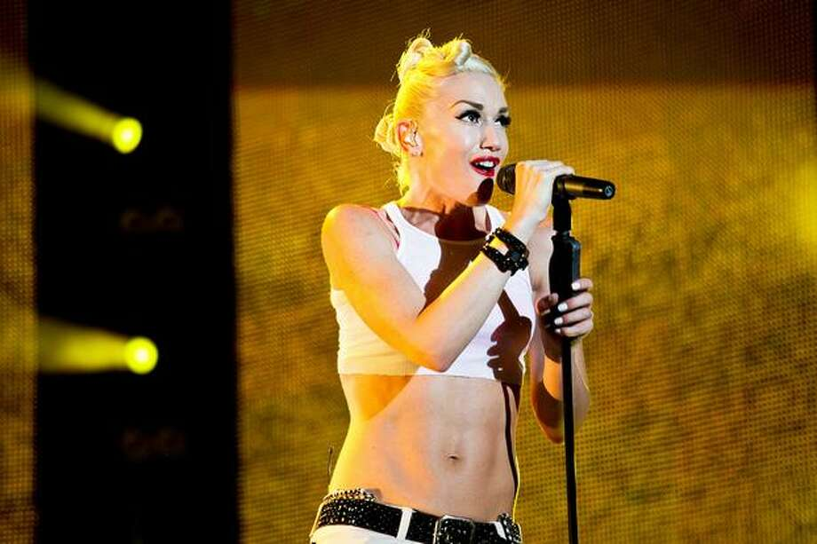 Gwen Stefani, singer from rock band No Doubt performs at the F1 Rocks concert on Friday in Singapore. (AP Photo/Joan Leong) Photo: Getty Images / Getty Images