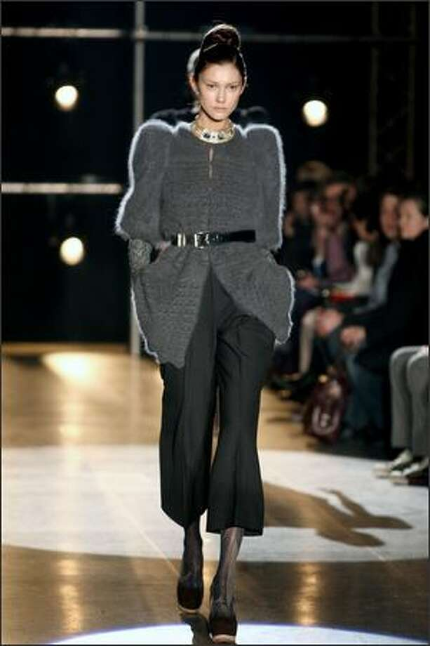 A model walks the runway in the Love Sex Money show as part of Milan Fashion Week Womenswear Autumn/Winter 2009 on Sunday in Milan. Photo: Getty Images / Getty Images