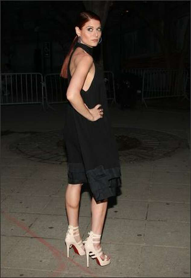 Actress Debra Messing attends the Vanity Fair party for the 2009 Tribeca Film Festival. Photo: Getty Images / Getty Images