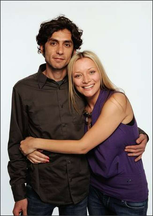 Director Daniel Benmayor and actress Jennifer Matter attend the Tribeca Film Festival 2009 portrait studio. Photo: Getty Images / Getty Images