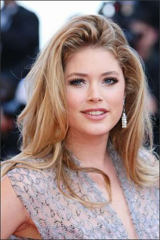 Model Doutzen Kroes attends the Looking For Eric Premiere held at the Palais Des Festivals during the 62nd International Cannes Film Festival in Cannes, France. Photo: Getty Images / Getty Images