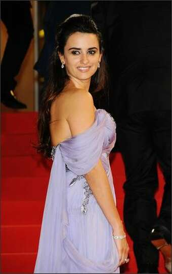 Actress Penelope Cruz departs the