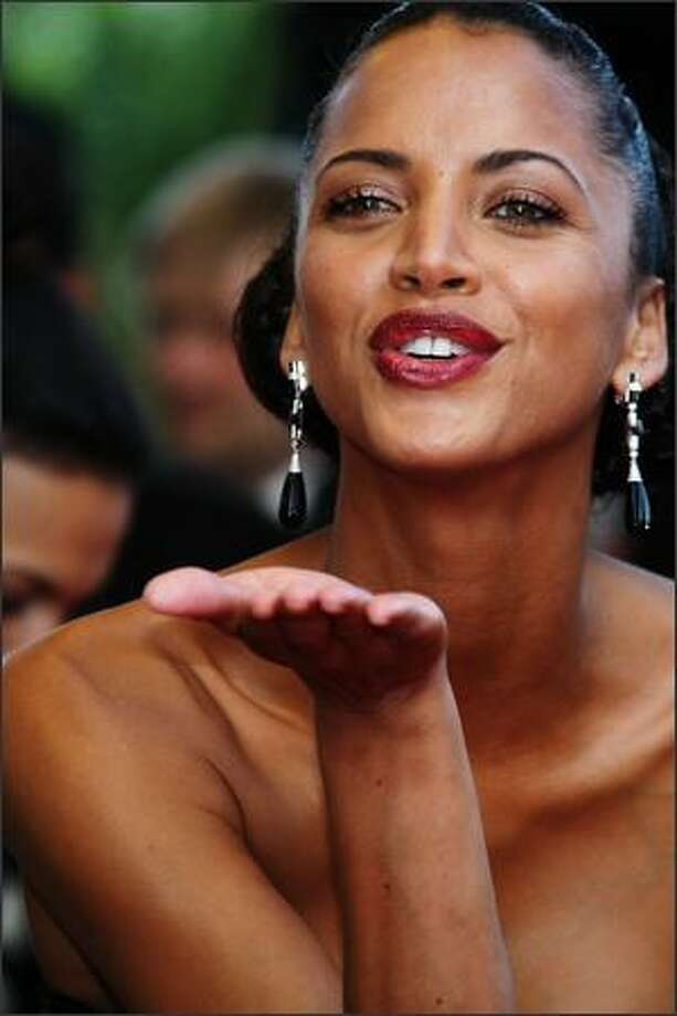 Model Noemie Lenoir attends The Imaginarium Of Doctor Parnassus Premiere at the Palais De Festivals during the 62nd International Cannes Film Festival in Cannes, France. Photo: Getty Images / Getty Images