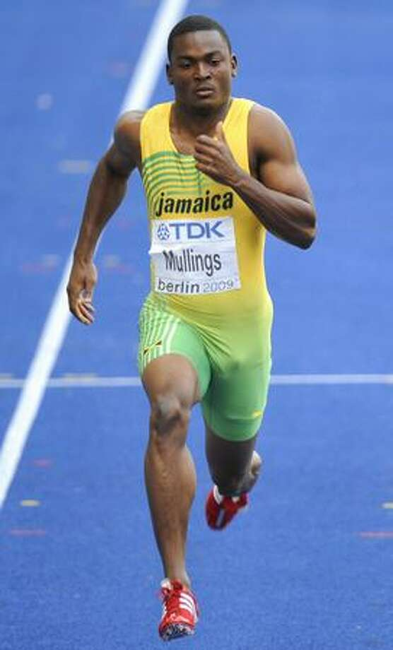 Jamaica's Steve Mullings competes in the men's 200m round 1 heat 3 race of the 2009 IAAF Athletics World Championships on August 18, 2009 in Berlin. Mullings won the heat. Photo: Getty Images / Getty Images