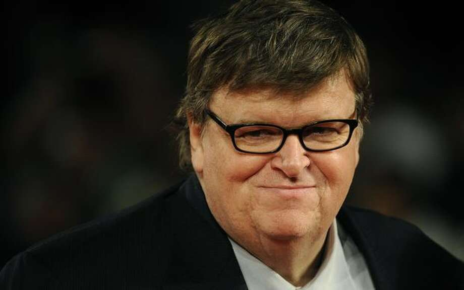 Michael Moore. Official documentarian. He could document Stone's documentary of life lived in a reality TV show on Mars. Photo: Getty Images / Getty Images