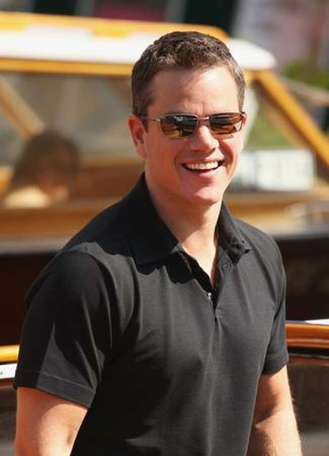 Actor Matt Damon arrives at the Excelsior Hotel seen during the 66th Venice Film Festival on Monday in Venice, Italy. Photo: Getty Images / Getty Images
