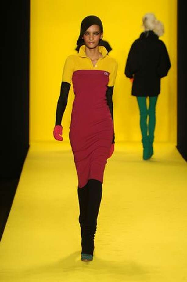 NEW YORK - FEBRUARY 13: A model walks the runway at the Lacoste Fall 2010 Fashion Show during the Mercedes-Benz Fashion Week Fall 2010 - Official Coverage at Bryant Park on February 13, 2010 in New York City. Photo: Getty Images / Getty Images