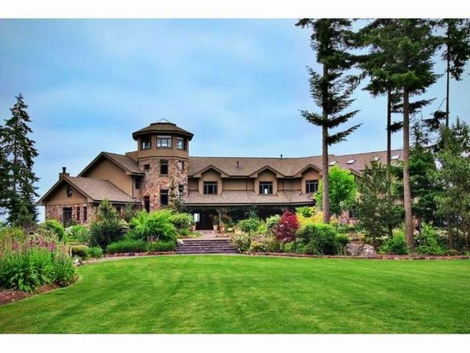 This $4,950,000 home on Vashon Island has five bedrooms and ten bathrooms and was built in 2001. The house is 15,300 square feet and is on a 12.5 acre lot. (Windermere.com) See the listing.