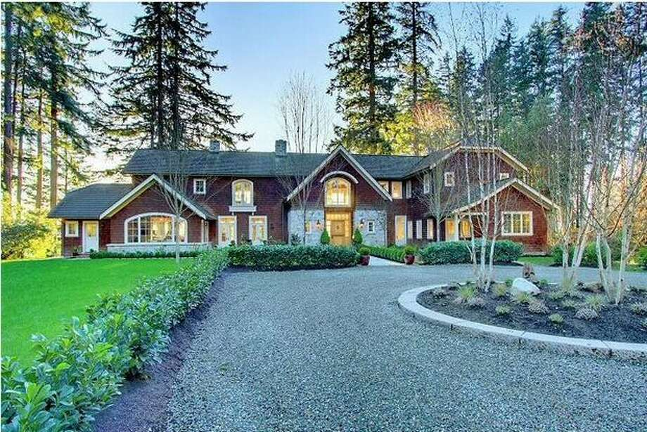 This $4,868,000 home located on Bainbridge Island has four bedrooms, five bathrooms and was built in 2008. The home is 6,163 square feet and was built on a 3.86 acre lot.  (Windermere.com) See the listing.