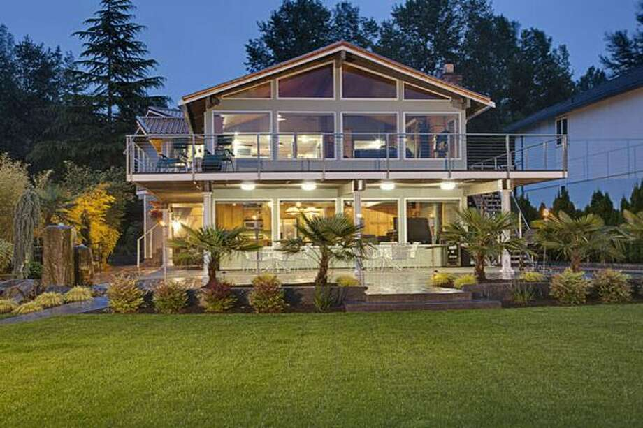 This $1,995,000 home in Renton has five bedrooms and 2.75 bathrooms and was built in 1977. The home is 3,414 square feet. (Johnlscott.com) See the listing.