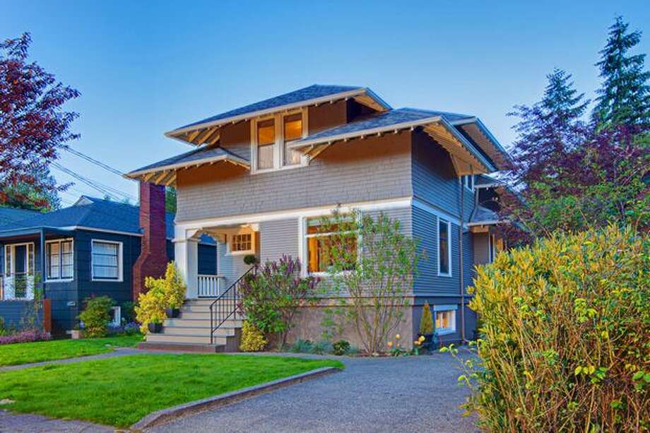 Montlake neighborhood is a lovely residential neighborhood surrounded by Lake Union, Lake Washington Ship Canal and Lake Washington.   This $739,000 Montlake home has four bedrooms and 2.5 bathrooms. The home is located at 1912 26th Ave E. See the listing. (Moya Skillman and Tere Foster/ Windermere)