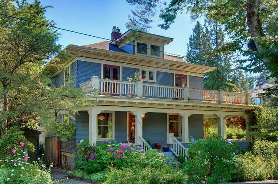 What do homes just under $1,000,000 look like in Seattle? Here are three homes in three different areas. This $889,000 home at 3853 W Olive St near Denny Blaine has four bedrooms and 1.75 bathrooms. Built in 1911, this 3,700 square foot house has a wrap around porch and veranda, box beam ceilings and bay windows through out. (Windermere.com) See the listing.
