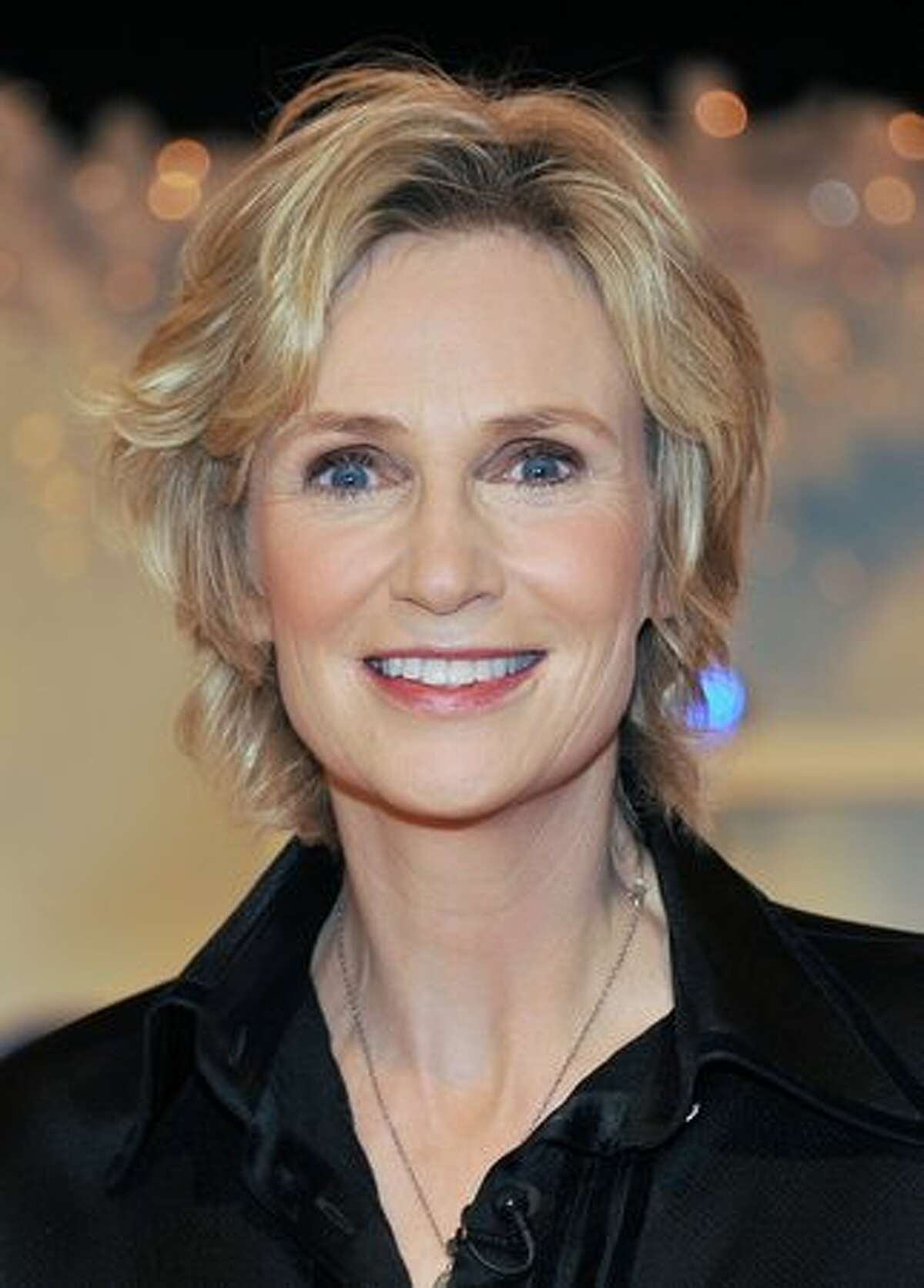 Actress Jane Lynch attends the 2010 Charmin Go Nation Throne Coronation at 142 West 42nd Street in New York City.