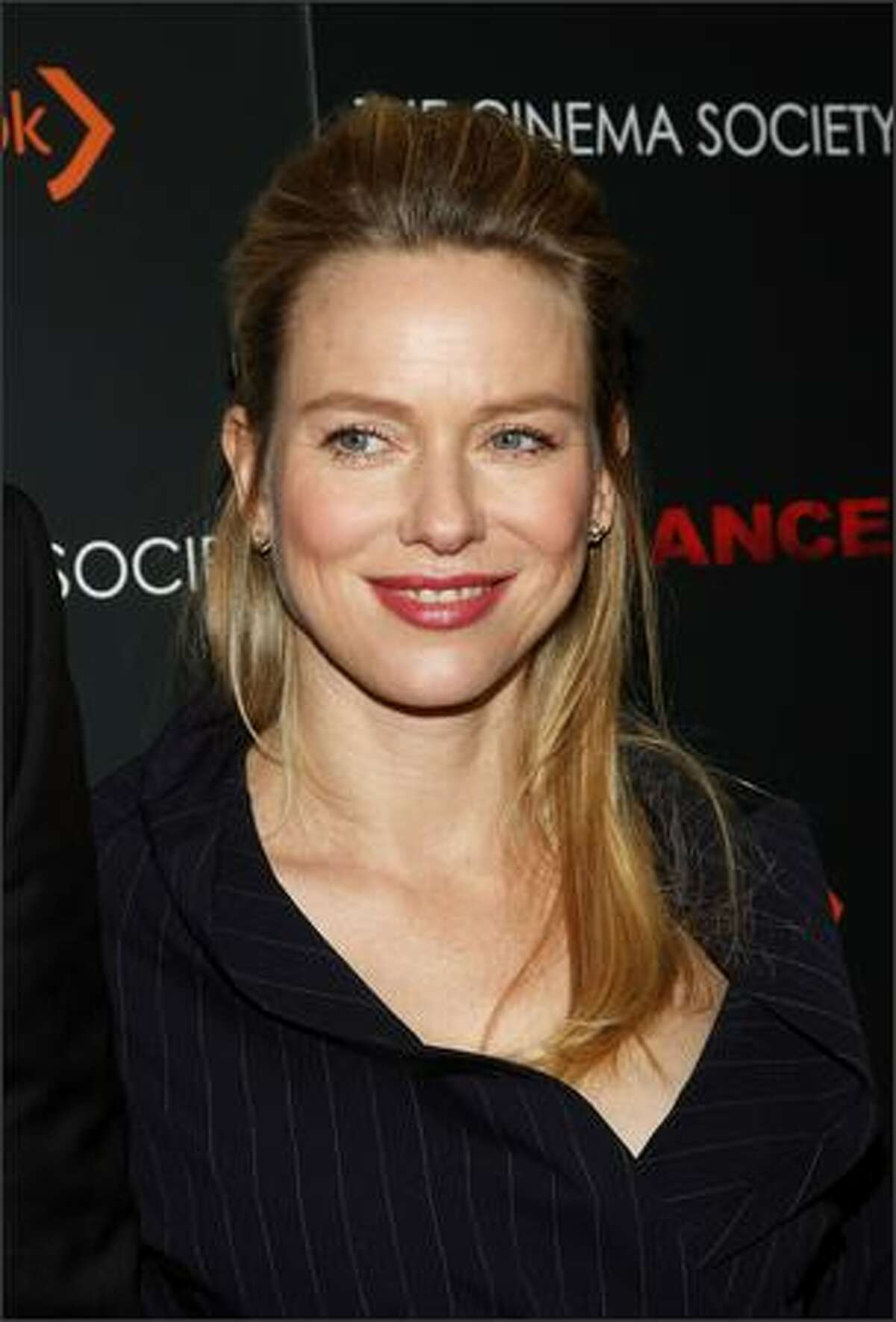 """Actress Naomi Watts attends a screening of """"Defiance"""" hosted by The Cinema Society & Nextbook at Landmark Sunshine Theater in New York City."""
