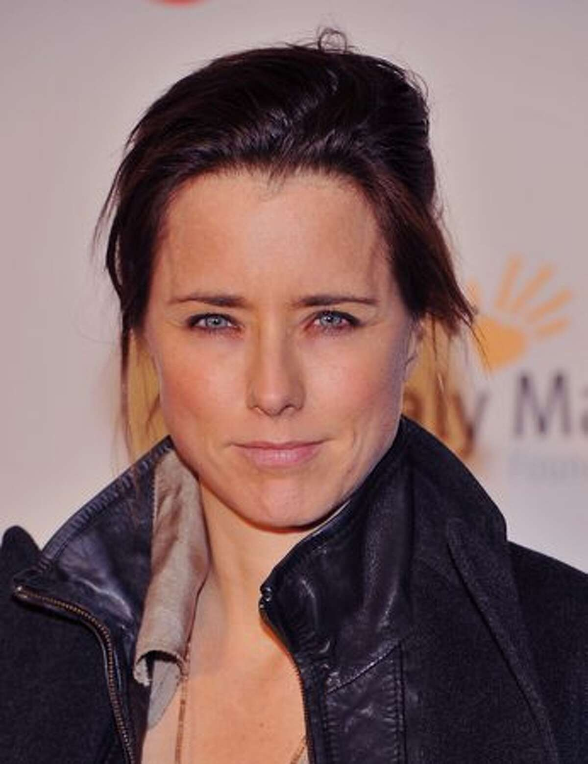 """Actress Tea Leoni attends the world premiere of """"Not My Life"""" at Alice Tully Hall in New York City."""
