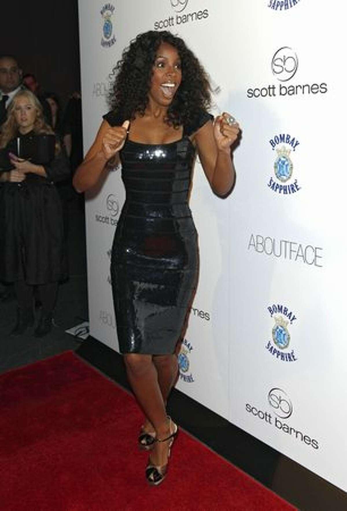 Singer Kelly Rowland attends Scott Barnes'