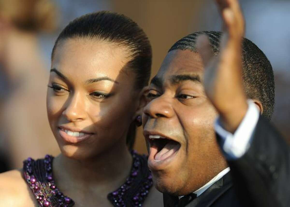 Tracy Morgan hot on the road