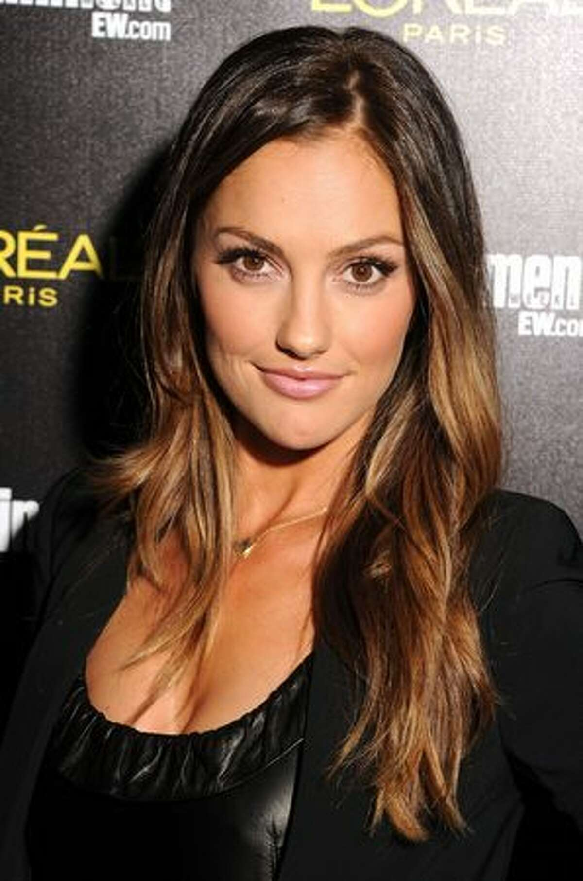 Actress Minka Kelly arrives at Entertainment Weekly's celebration honoring the 17th Annual Screen Actors Guild Awards nominees hosted by Jess Cagle and presented by L'Oreal Paris at Chateau Marmont in Los Angeles, California.