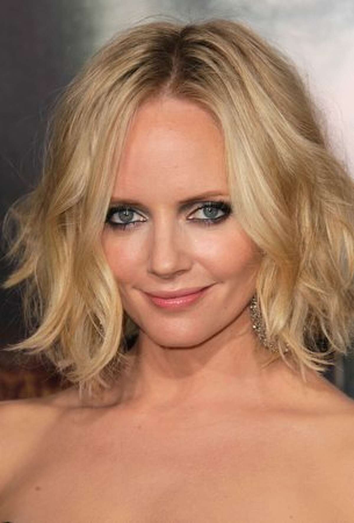 Actress Marley Shelton attends the premiere of Warner Brothers'
