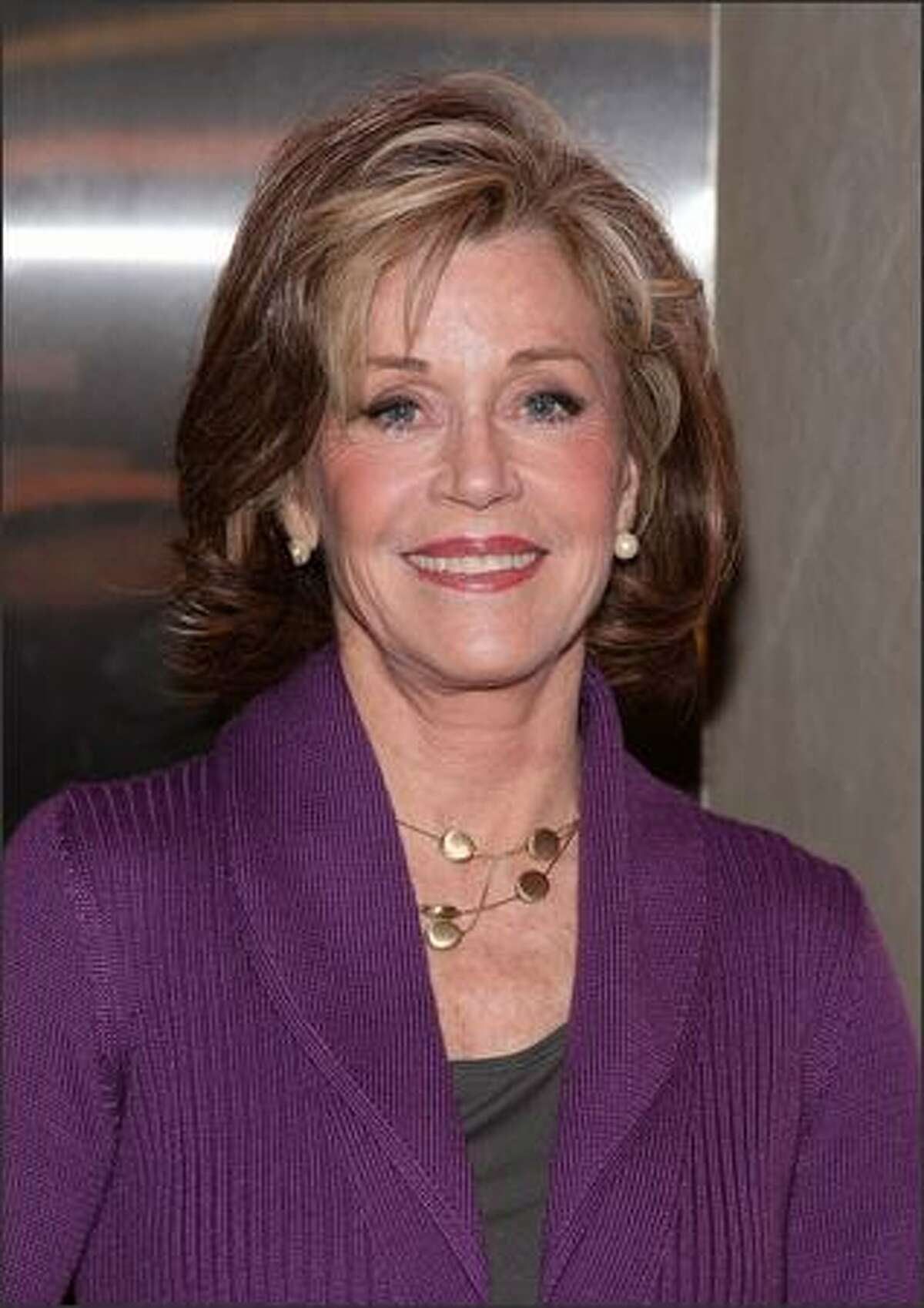 Actress Jane Fonda attends a screening of