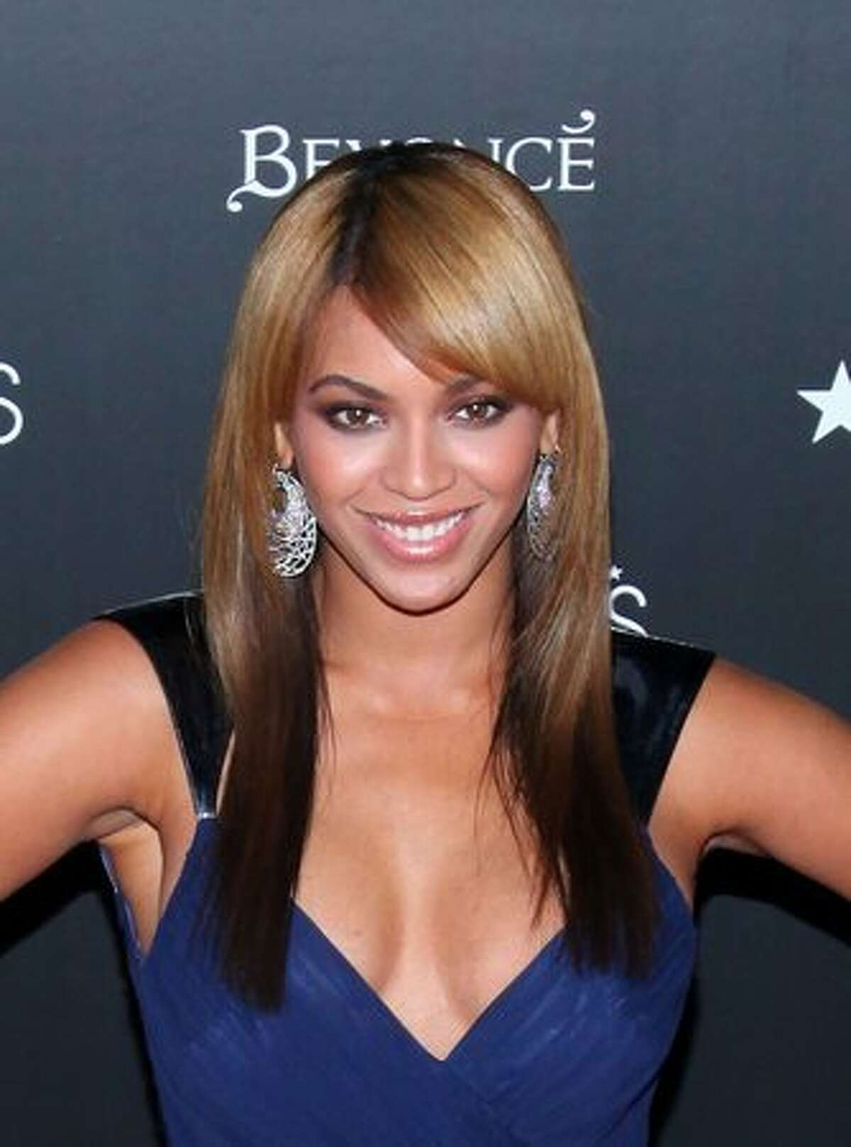 Singer and actress Beyonce Knowles attends the launch of her fragrance