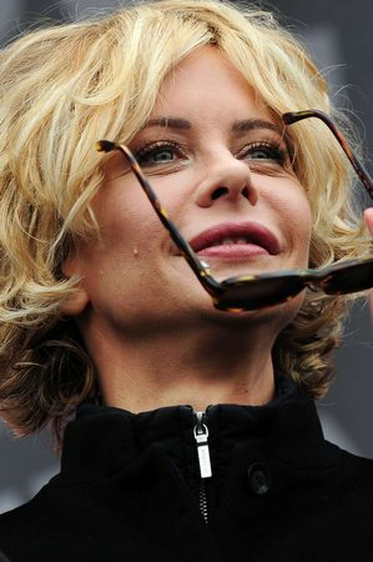 Actress Meg Ryan attends the opening ceremony of Istanbul Fashion Week.