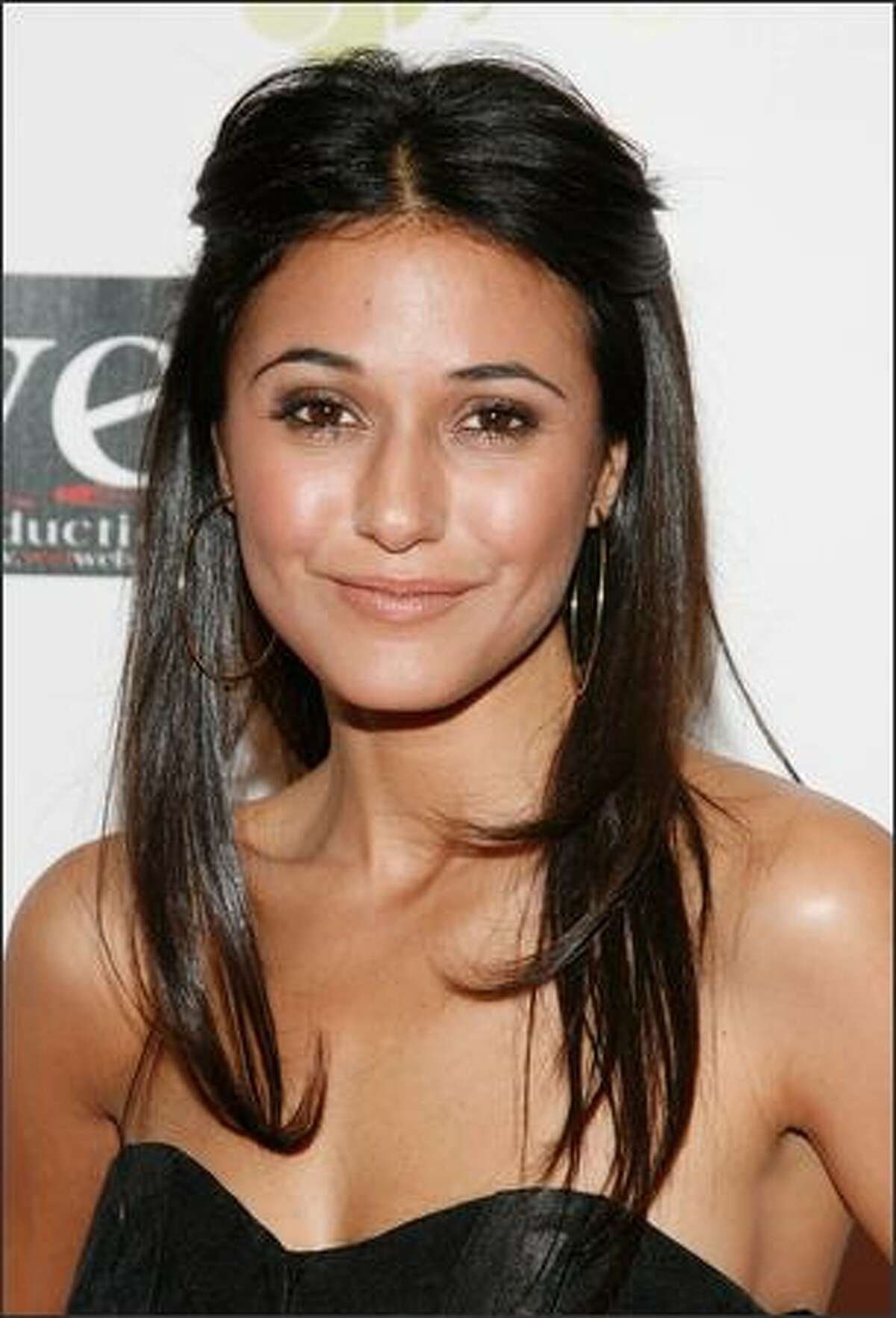 Actress Emmanuelle Chriqui attends the LOVE benefit to support WET's 10th season at the Angel Orensanz Foundation in New York City.