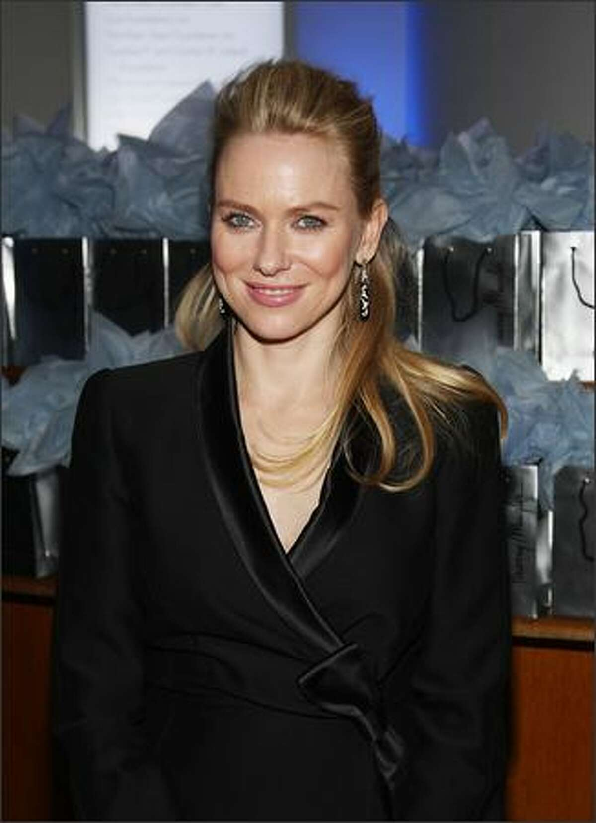 Actress Naomi Watts attends the after party for the Cinema Society and Angel by Thierry Mugler screening of