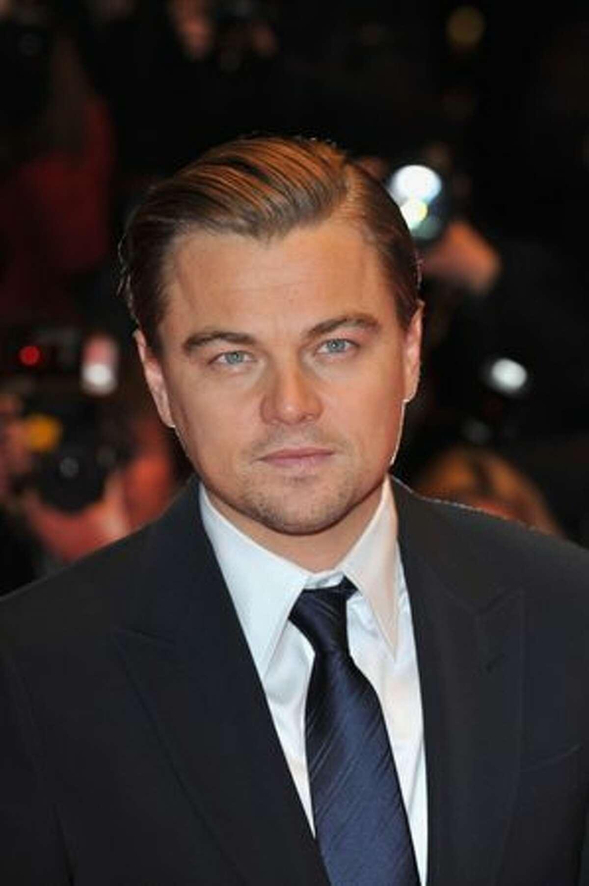 Actor Leonardo DiCaprio attends the