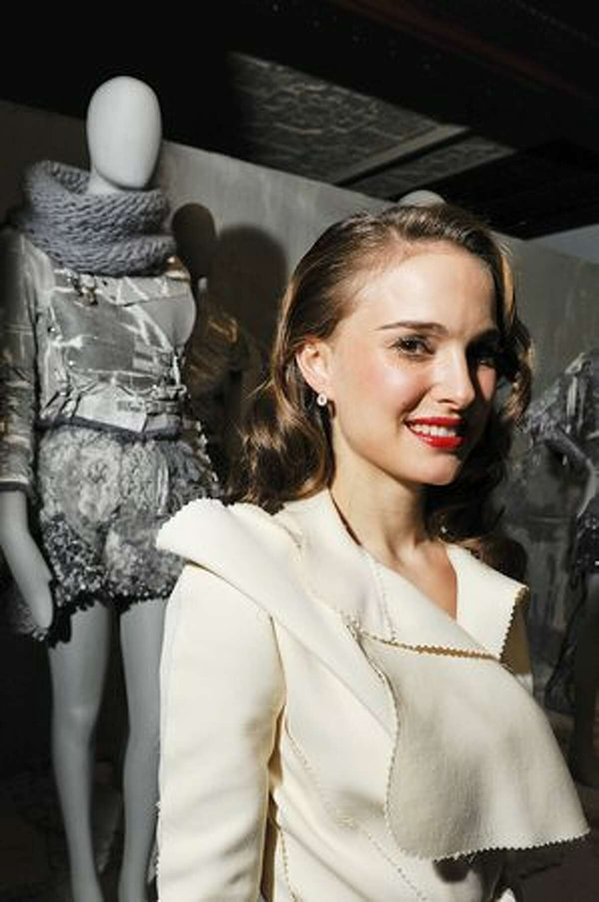 Actress Natalie Portman attends the