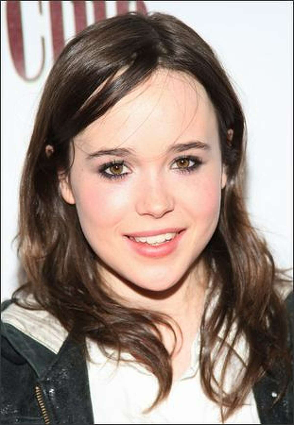 Actress Ellen Page attends the Fox Searchlight Pictures' Oscar & Independent Spirit Award Party at the STK LA Restaurant.