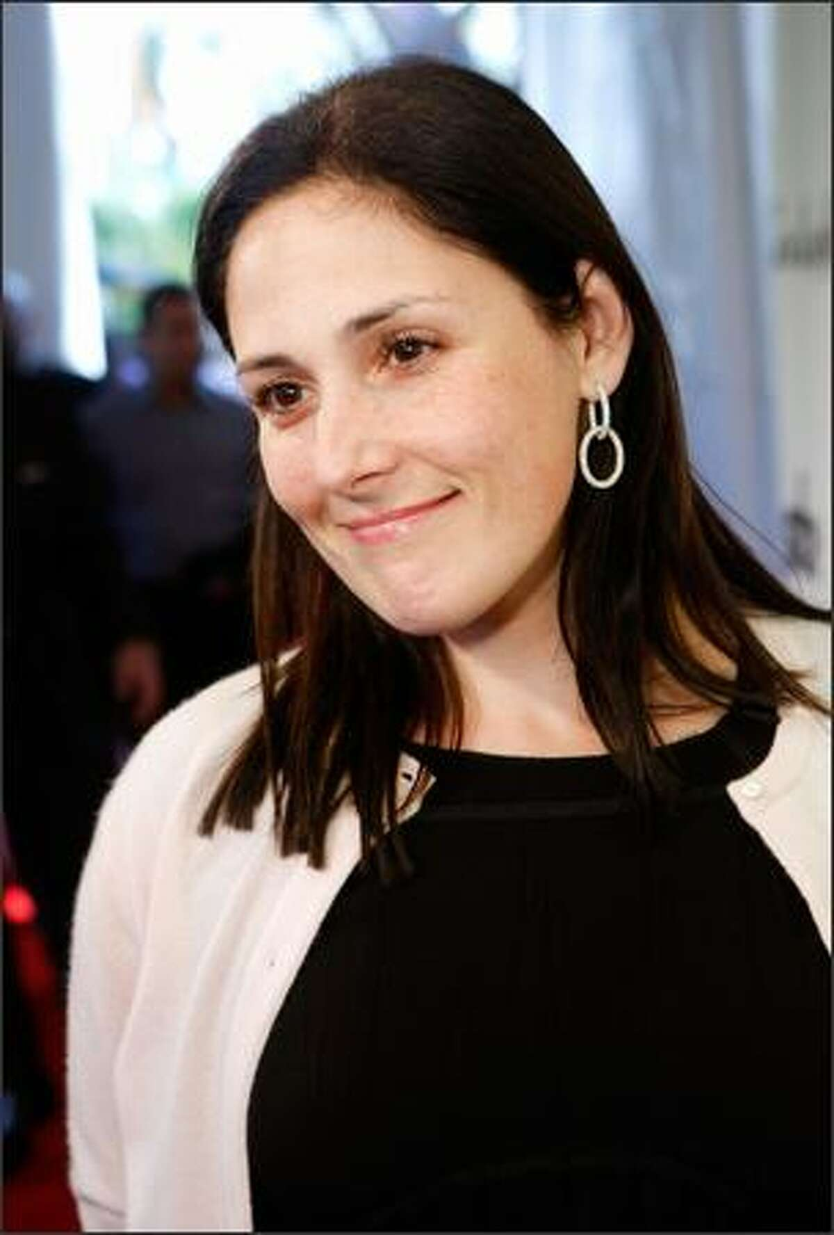 """Actress Ricki Lake arrives at """"The Envelope Please"""" 7th Annual Oscar viewing party held at the Abbey in West Hollywood, California."""