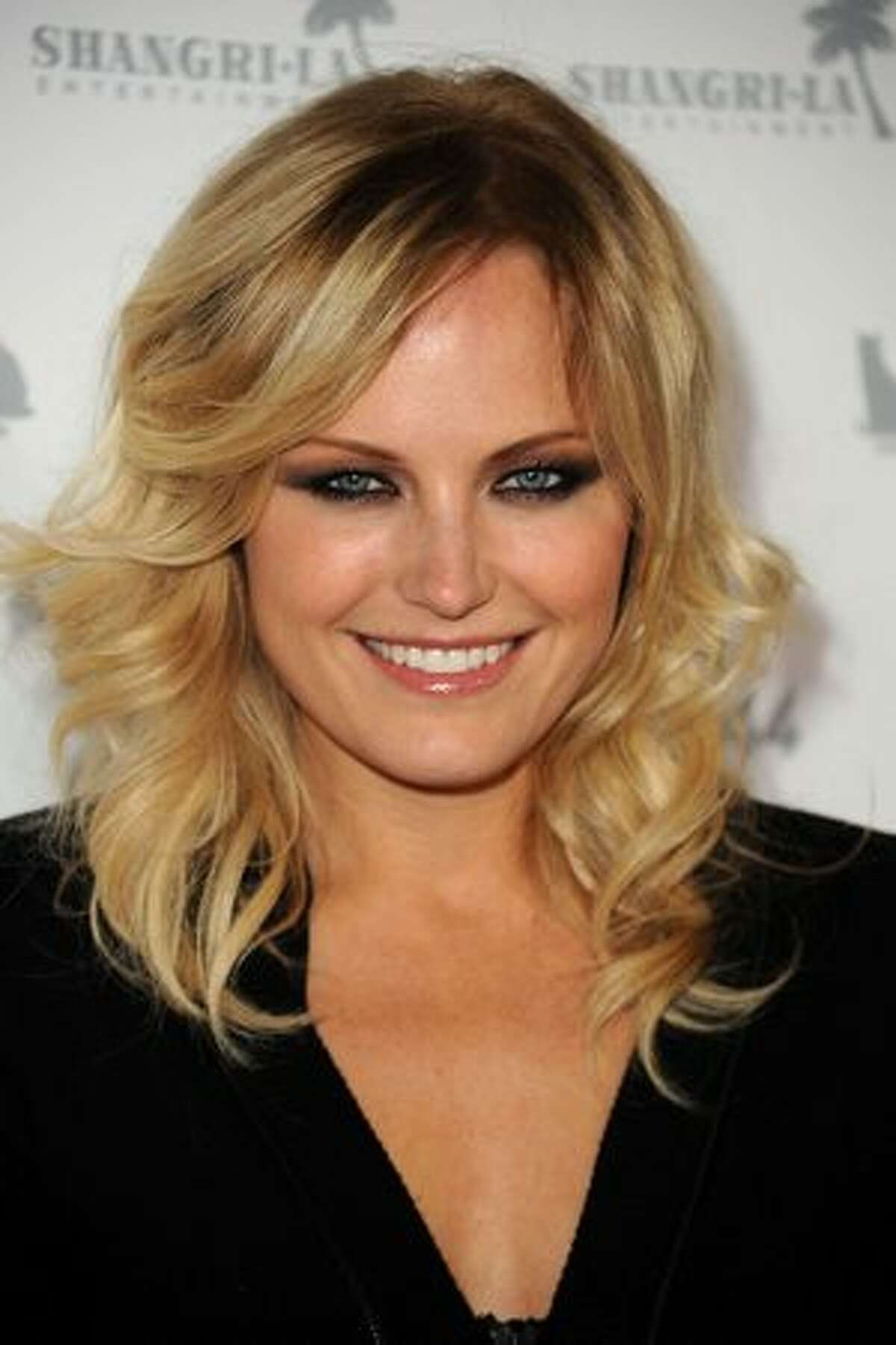 Actress Malin Akerman arrives at the premiere of Shangri-La Entertainment's
