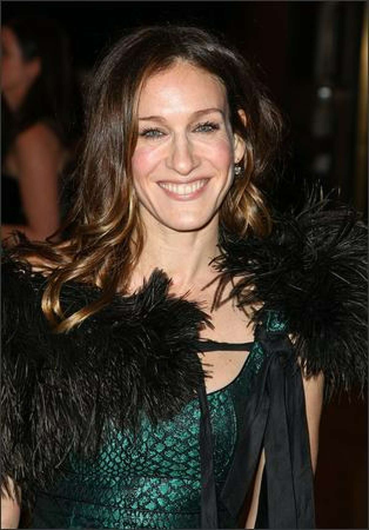 Actress Sarah Jessica Parker attends the School of American Ballet's winter ball at Lincoln Center in New York City.
