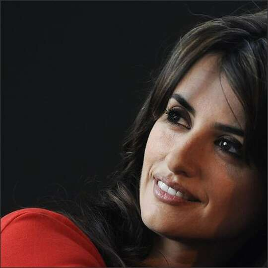 Spanish actress Penelope Cruz poses during a photocall to present Spanish film director Pedro Almodo