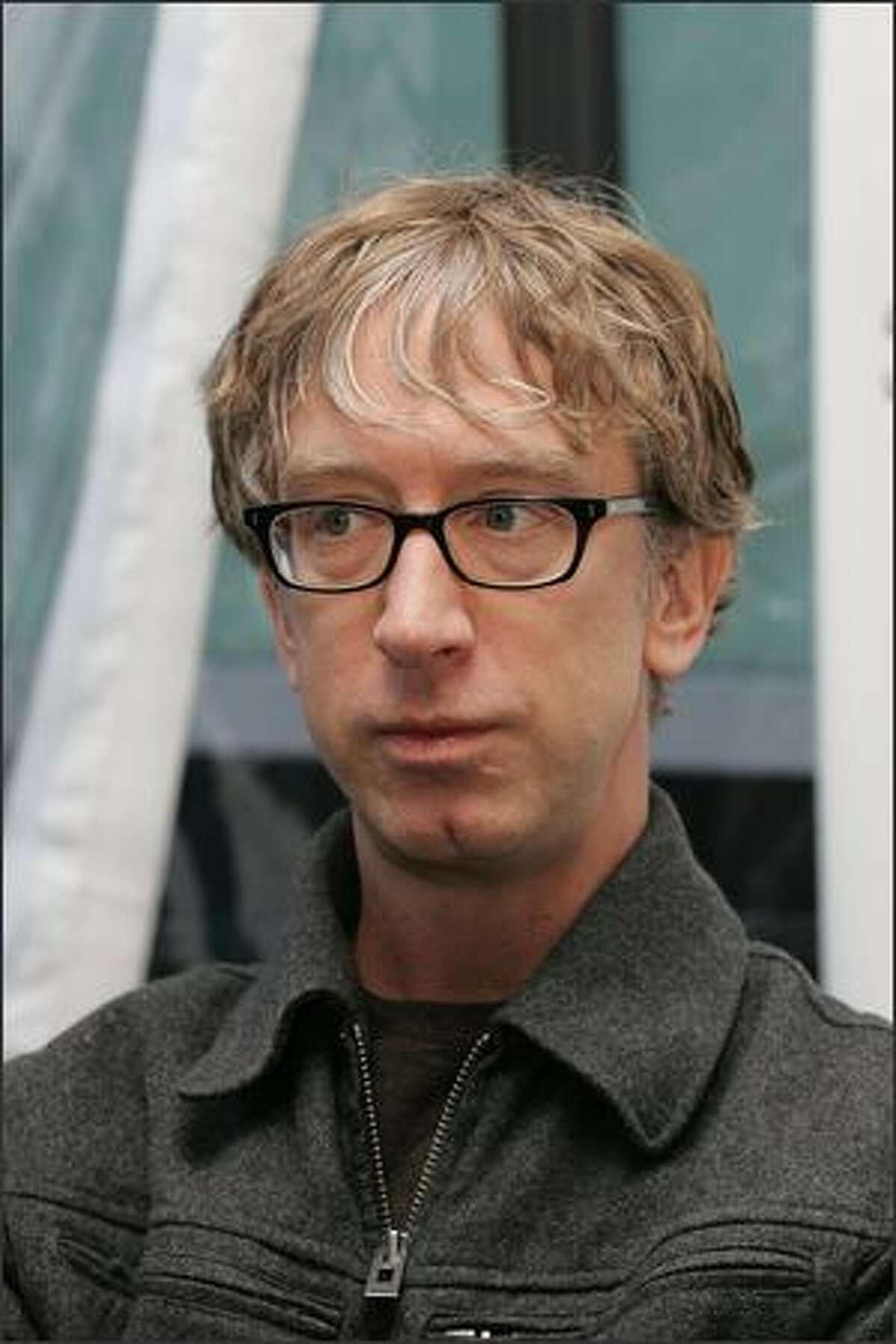Actor Andy Dick arrives for