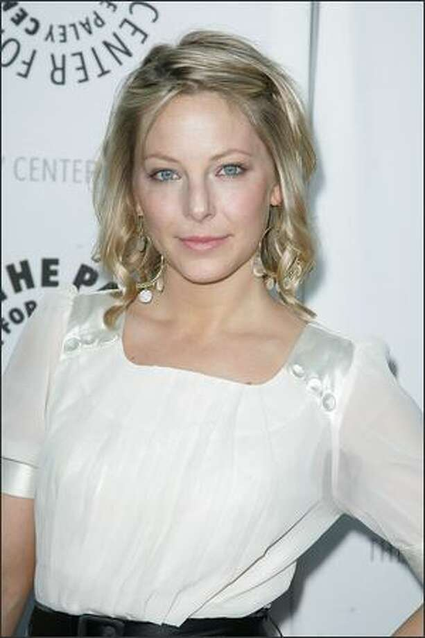 Actress Anastasia Griffith arrives at the Payley Center for Media's 25th annual Paley Television Festival at the Arclight Cinema on March 24, 2008 in Hollywood, Calif. Photo: Getty Images / Getty Images