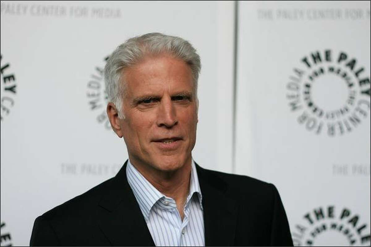 Actor Ted Danson arrives at the Payley Center for Media's 25th annual Paley Television Festival at the Arclight Cinema on March 24, 2008 in Hollywood, Calif.