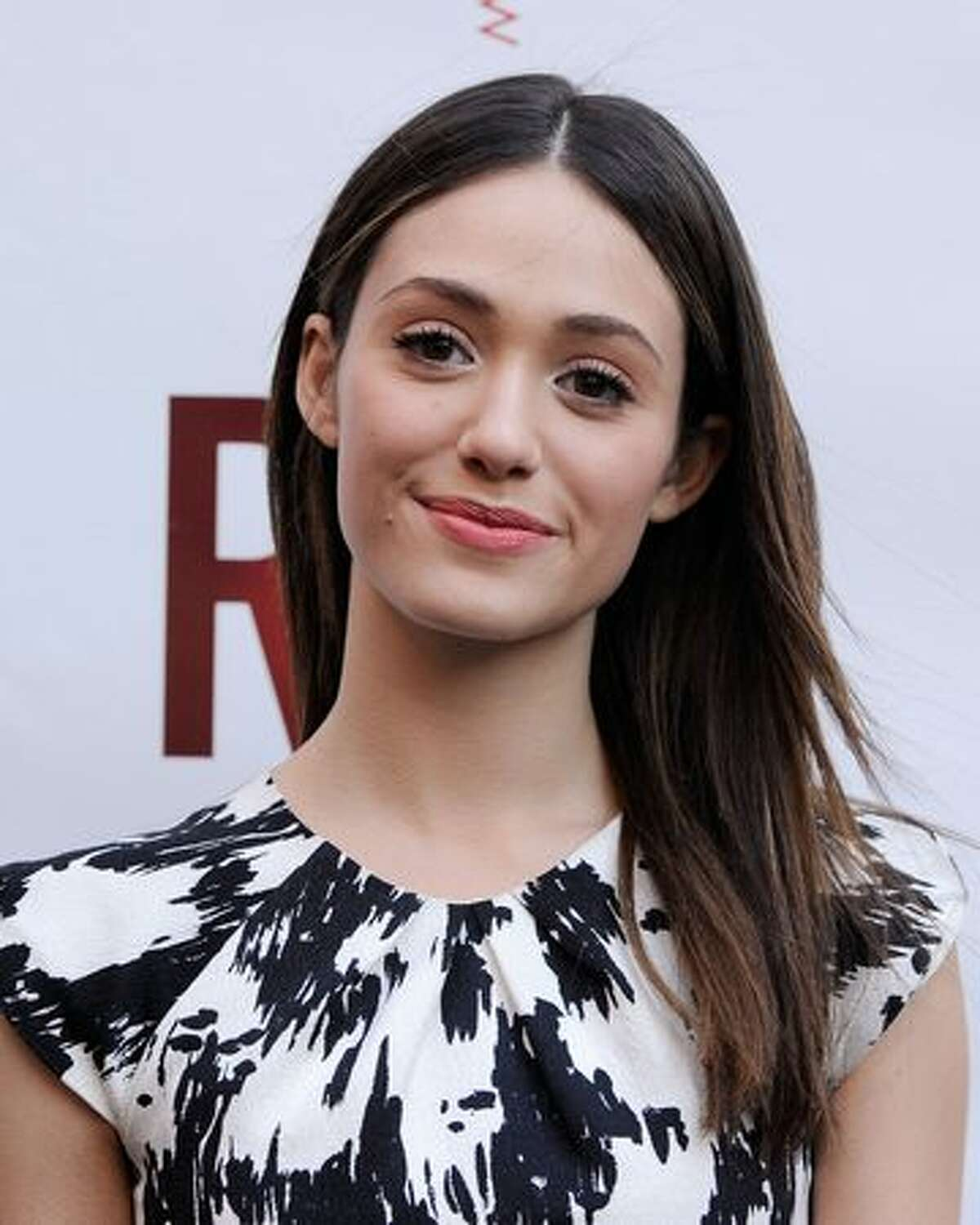 Actress Emmy Rossum attends the Broadway opening of