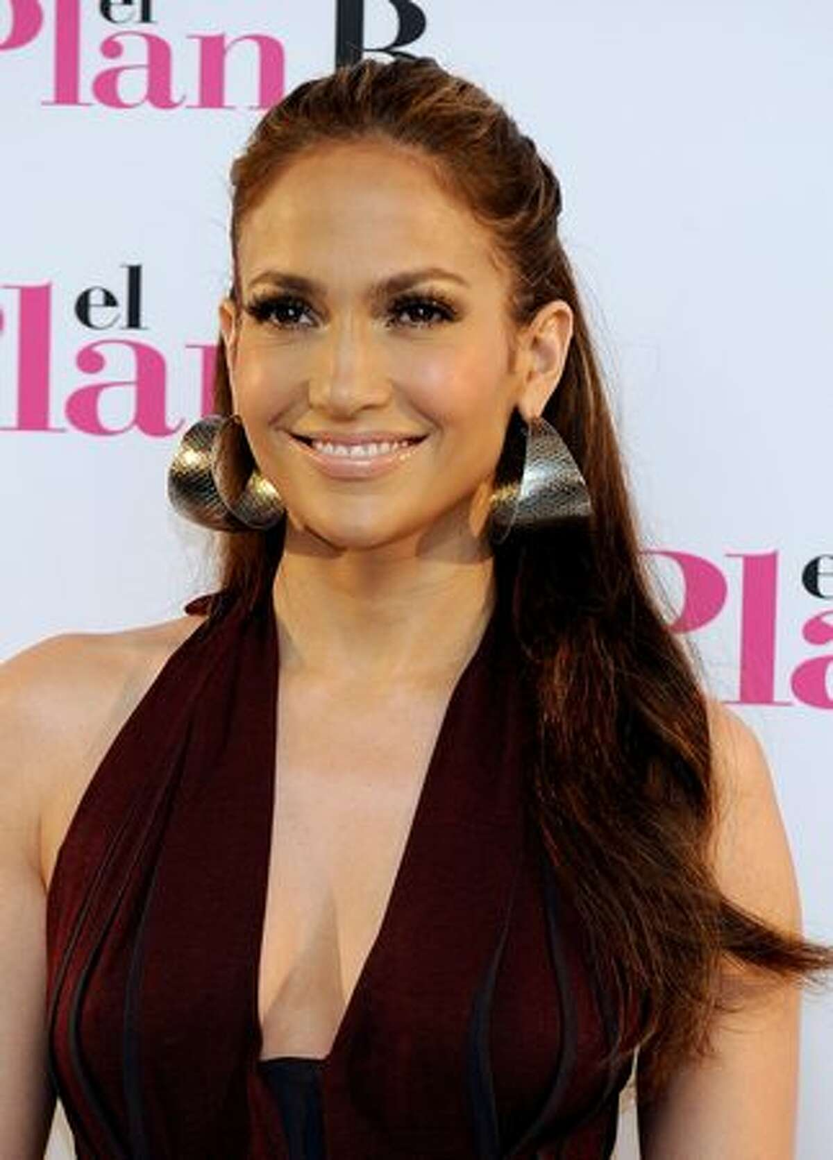 """Actress Jennifer Lopez attends the """"Plan B"""" (""""The Back-Up Plan"""") photocall at the Villamagna Hotel on Monday in Madrid, Spain."""