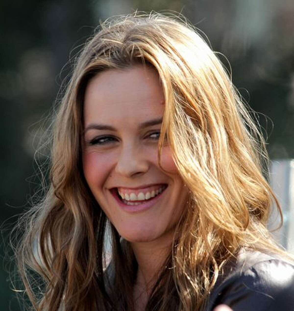 Actress/author Alicia Silverstone speaks during the 15th annual Los Angeles Times Festival of Books at UCLA on Saturday in Los Angeles, California.
