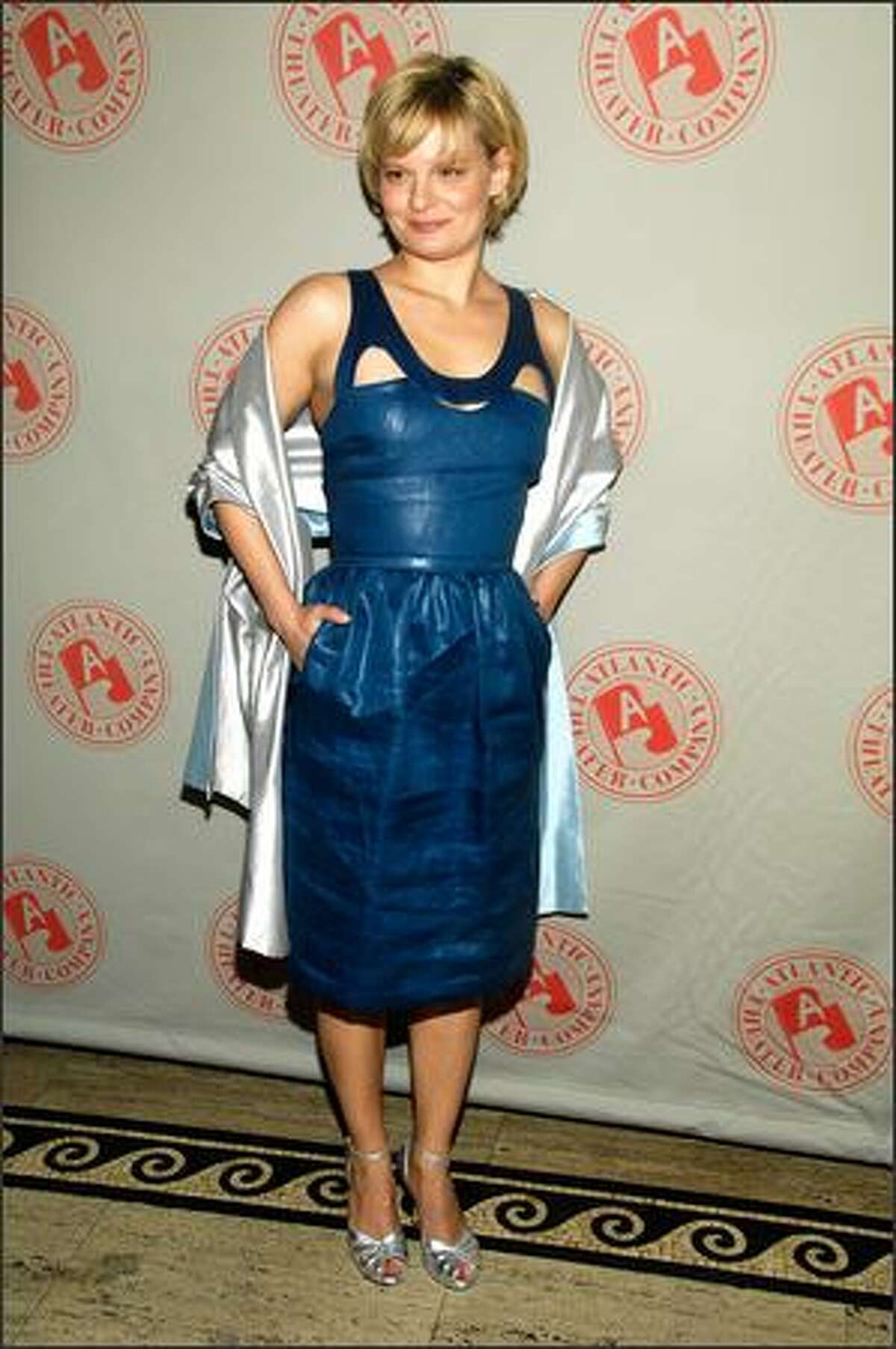 Actress Martha Plimpton attends the Atlantic Theater Company's 2009 Spring Gala in New York City.