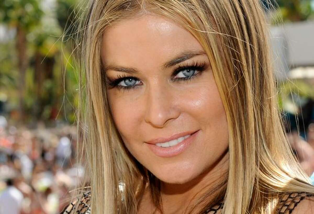 Actress Carmen Electra appears at the Wet Republic pool at the MGM Grand Hotel/Casino to celebrate her birthday hosted by Hpnotiq Sunday in Las Vegas, Nevada. Electra's birthday was on April 20.