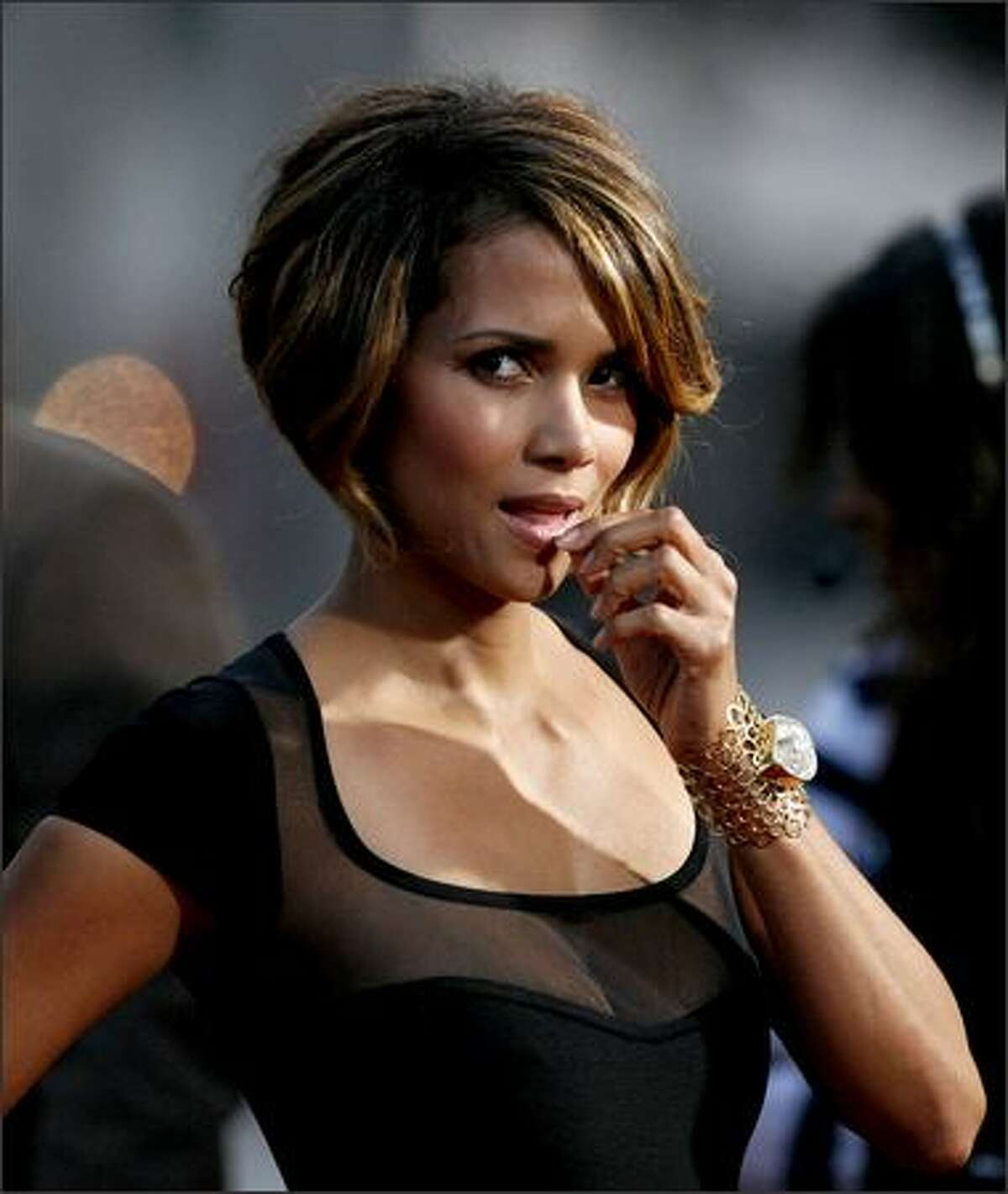 Actress Halle Berry attends an industry screening of
