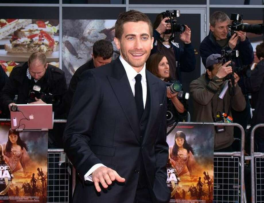 "US actor Jake Gyllenhal arrives for the World Premiere of his latest film, ""The Prince of Persia - The Sands of Time"" in West London on Sunday, May 9. Photo: Getty Images / Getty Images"